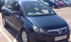VAUXHALL ZAFIRA AUTO DIESEL �BER READY CLEAN TIDY LOW