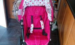 Pushchair immaculate condition used as a spare includes