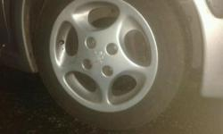 genuine Peugeot 106 quicksilver wheels and tyres 4 of.