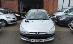 2004/54 PEUGEOT 206 1.1 INDEPENDENCE VERY LOW MILES