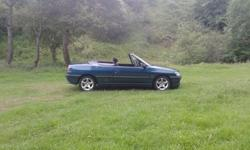306 convertible 116k mot till 14th of august 2012