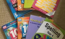 Books include, Grammar for literacy (Y5), 100 Literacy