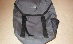Single charcoal grey pannier bag, suitable for use on