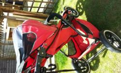 Phil & Teds Sport single pushchair. Used with usual