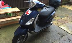 Piaggio fly 125 scooter vgc cash on collection only, no