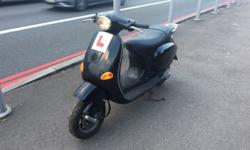 Here for sale we have my Piaggio Vespa 50cc twist and