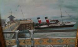 THE WAVERLY OIL PAINTING IDEAL XMAS PRESENT ! LAST