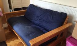 Double futon, not perfect condition but still
