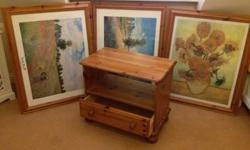 A TOUCH OF PINE The items below were bought new from a