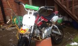 125 lifin pit bike good wee bike now has brake on the
