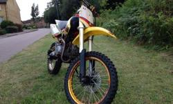 Stomp yx140 pit bike Full spec bike which has had an