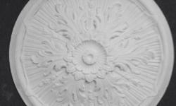 Ceiling roses for ceiling centre piece. 5 in all