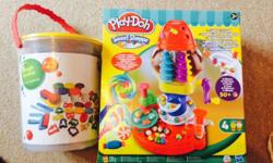 Brand new unopened playdoh, unwanted gifts. Comes with