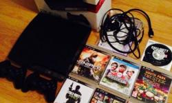 Here for sale is my Playstation 3 Slimline 120Gb bundle