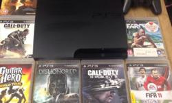 Here for sale is my Playstation 3 slimline 160gb bundle