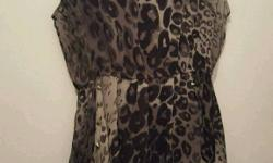 Poison industries dress size large good condition