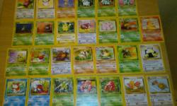 Selling my Pokemon Cards - original Jungle Set. Great