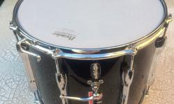 "Premier 14"" x 12"" marching snare drum. Snare both top"