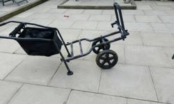 Preston fishing trolley used wants excellent condition