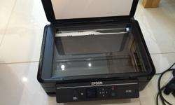 Epson xp312 printer and scanner with some inks included