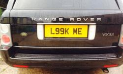 Private number plate for sale L99K ME L99 KME Open to