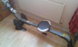 Pro Fitness Rower and Gym. In excellent condition as