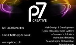 Project7 Creative, �£295 for Content Managed Website,