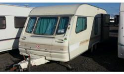 Portland twin axle caravan for sale as said in