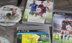 £40 if gone today ps3 2 pads 5 games fifa 16 fifa 15
