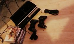 ps3 good condition comes with games controller eye toy