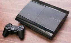 500gb slim PS3 with standard Sony controller and after