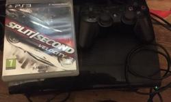 PS3 super slim in great condition comes with one pad