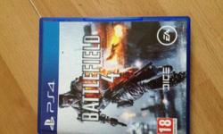 Ps4 game battlefield 4 like new