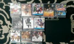See pictures for list of games Good working order