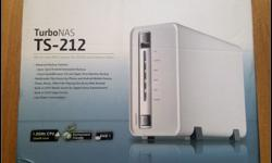 Qnap TS212 in white for sale. I have recently replaced
