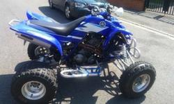 Here for sale is my raptor 660 road legal quad 2003