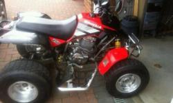 Quadzilla 250 ram/and road legal quad bike. 2004 MOT