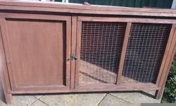 Rabbit hutch for sale Good condition £30 get in touch