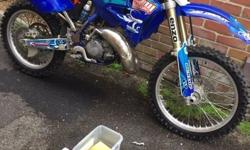 Yz 125 upgraded everything!! Race tuned engine been dug