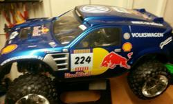 Vw tourag Paris dakar 1/5 desert racer. Full alloy