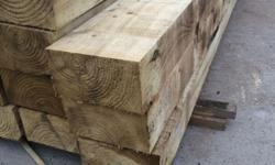 Hi a have for sale new cut tantalised Railway sleeper s
