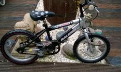 Raleigh striker ,football bike suitable for ages 4 too