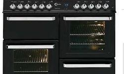 Range cooker Double oven 8 top burner Lovely condition