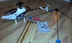 Rc helicopter raptor 30 v2 as new condition this was