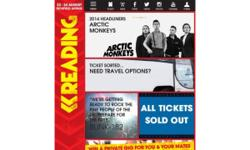 Reading Festival 2 x early bird entry tickets & 2