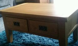 Real oak Coffee table paid 150 for this little over 2