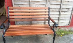 Reclaimed/Refurnished Garden Bench £65 Can deliver in