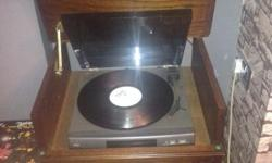 Sony record player all works fine It as a 5 disc multi