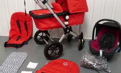 I have for sale Red Bugaboo Cameleon 2nd gen in very