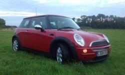 2004 RED MINI ONE 1.6 A very genuine and reluctant sale